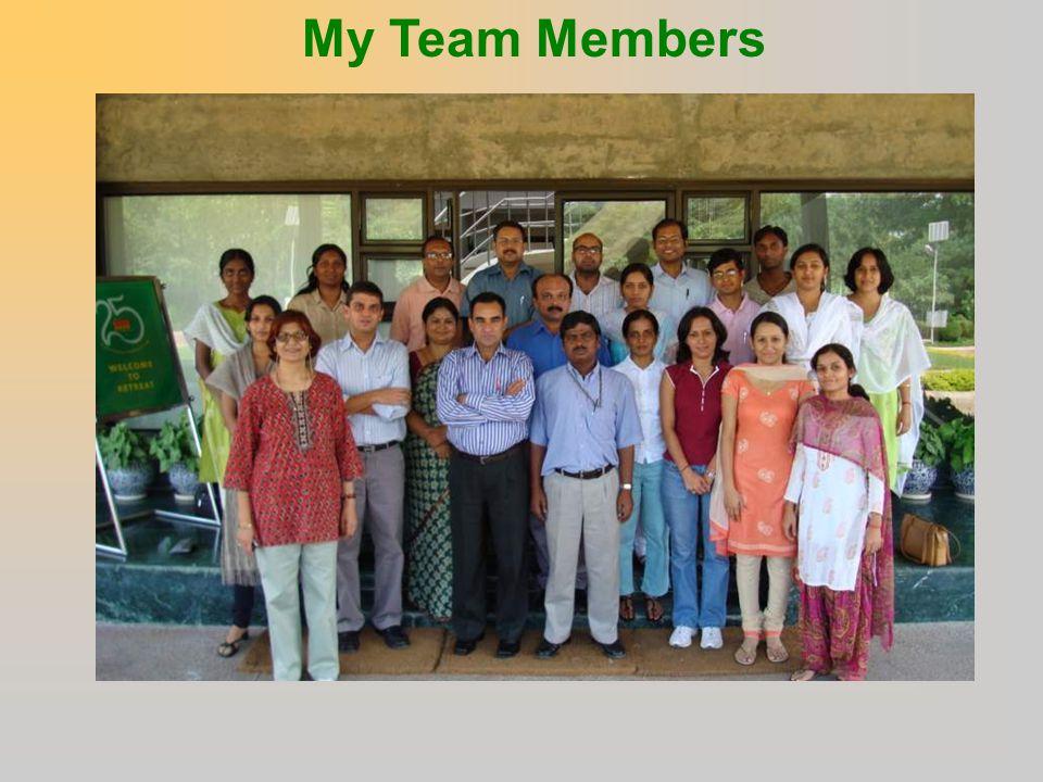 My Team Members