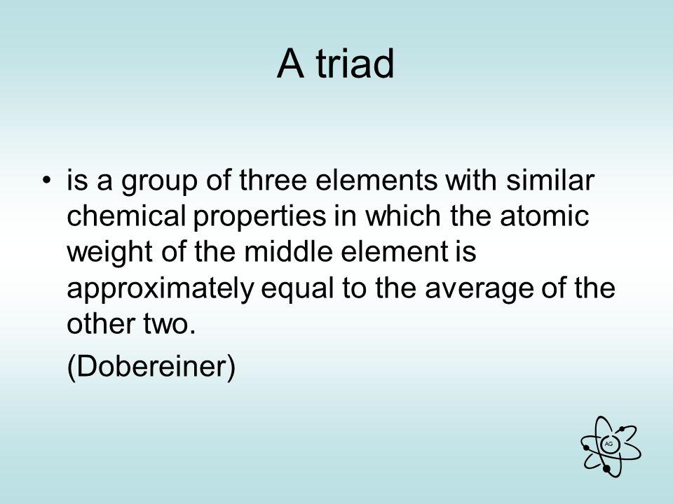 A triad