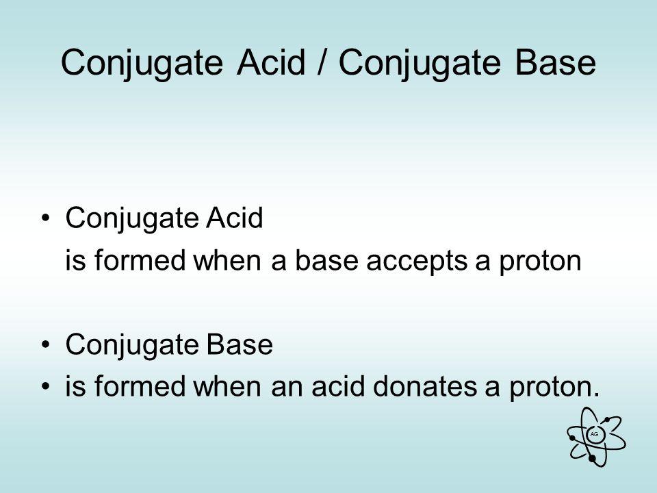 Conjugate Acid / Conjugate Base