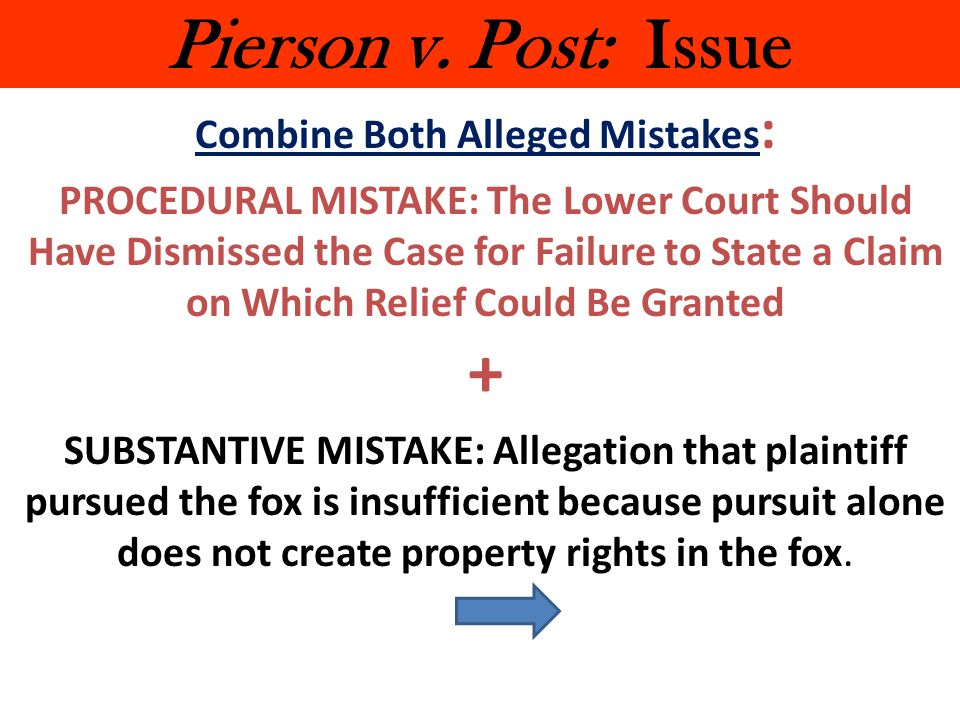 Combine Both Alleged Mistakes: