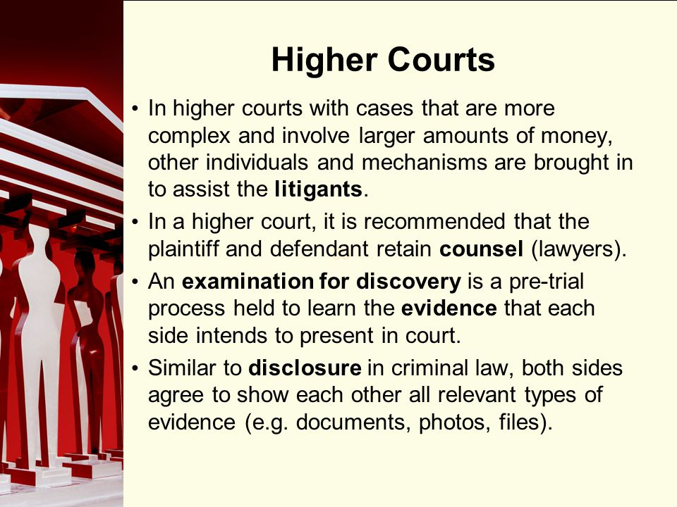Higher Courts