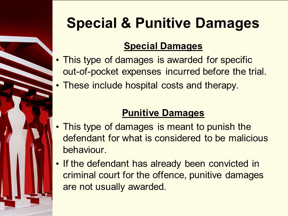 Special & Punitive Damages