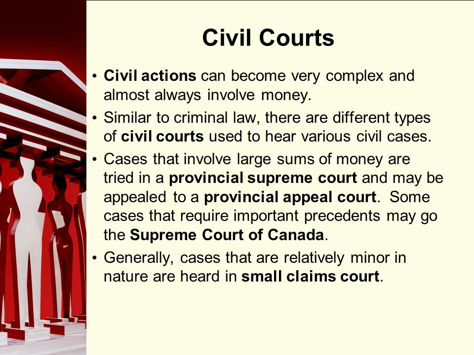 civil and criminal actions essay Civil remedies and crime prevention: an introduction by and prosecutors to take appropriate civil action of proof than criminal actions and loosen the.