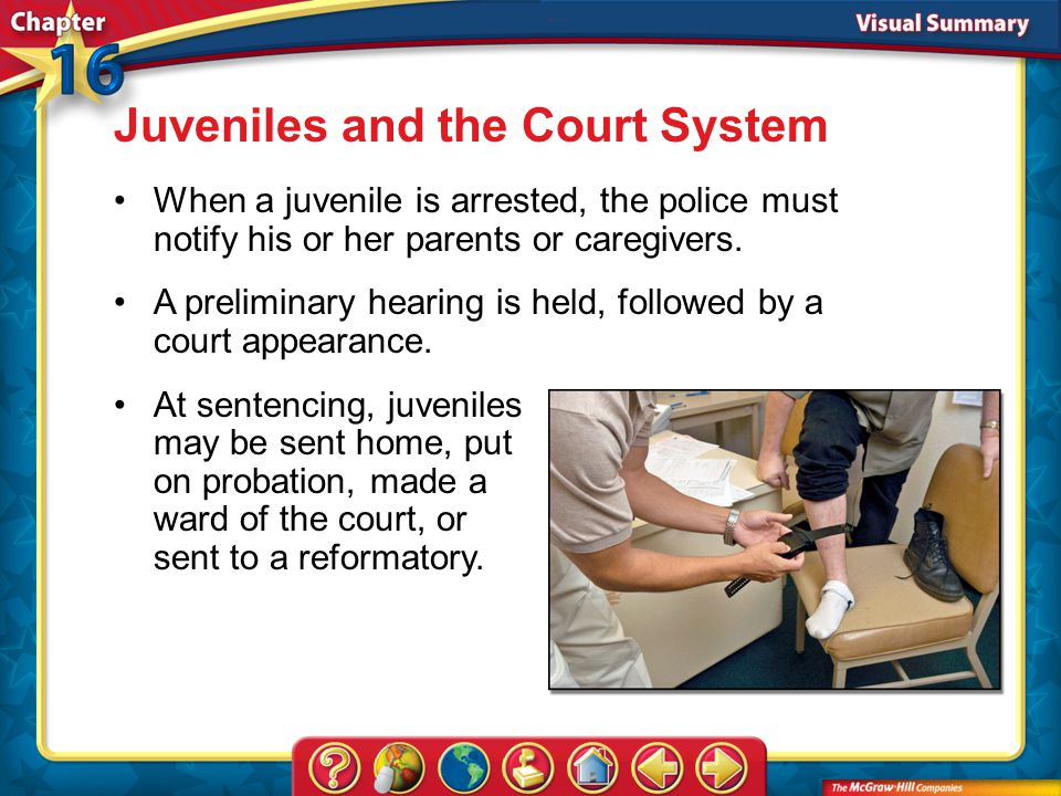 Juveniles and the Court System