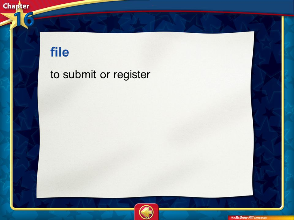 file to submit or register Vocab5
