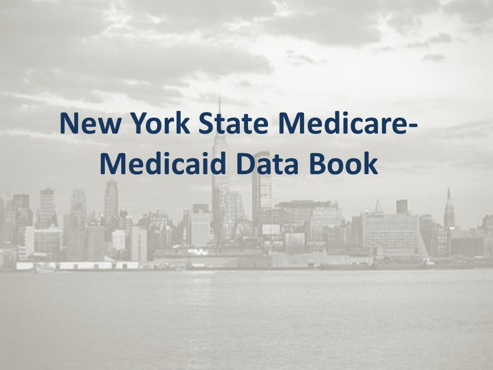 New York State Medicare-Medicaid Data Book