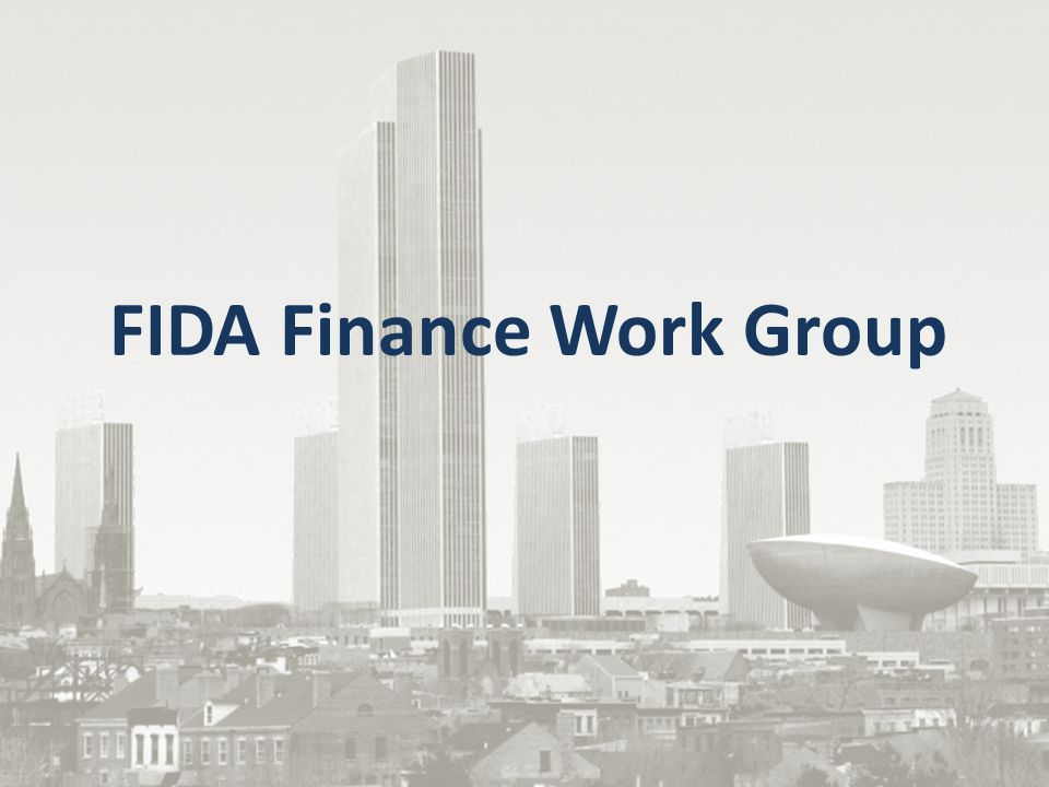 FIDA Finance Work Group