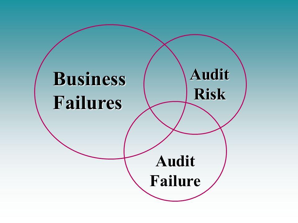 Audit Risk Business Failures Audit Failure
