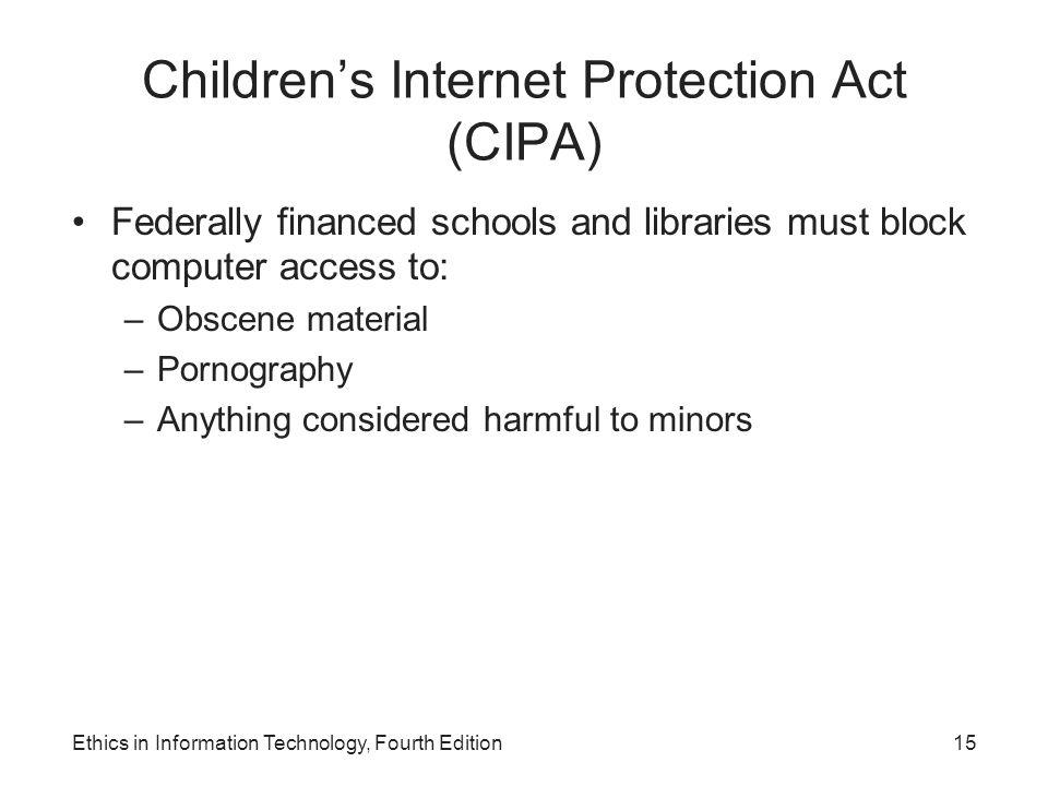 Children's Internet Protection Act (CIPA)