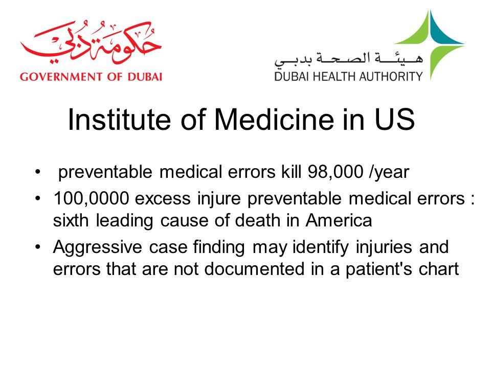 Institute of Medicine in US