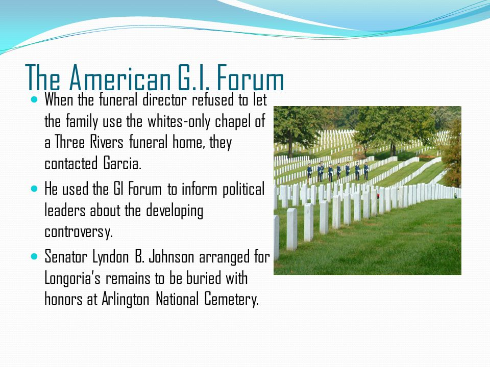 The American G.I. Forum