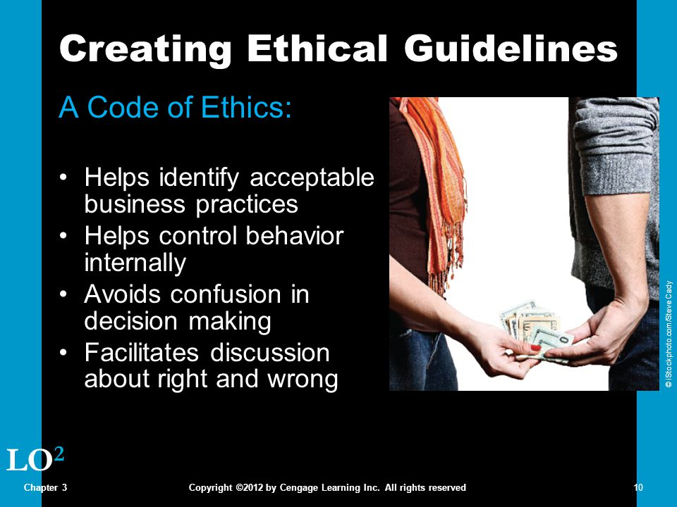 Creating Ethical Guidelines