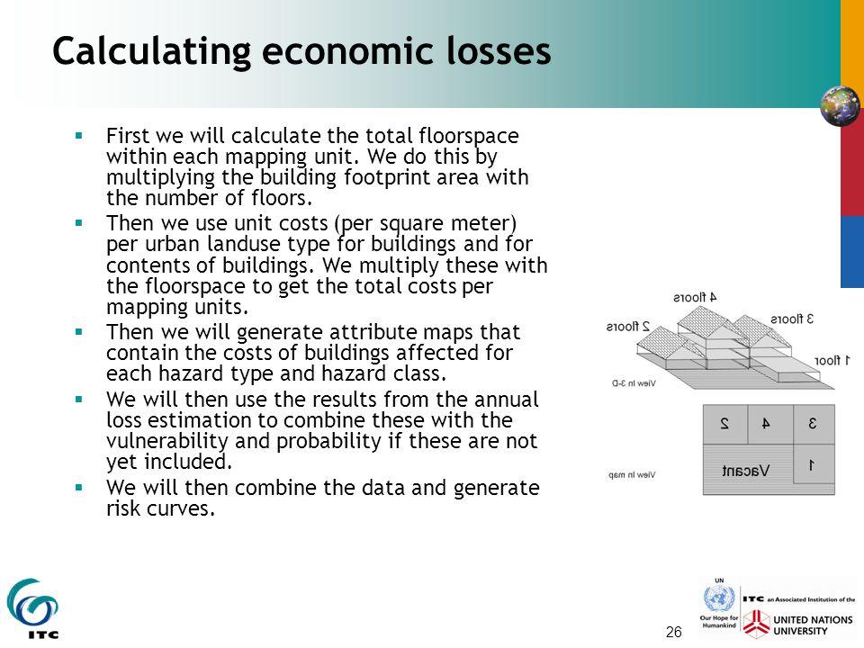 Calculating economic losses