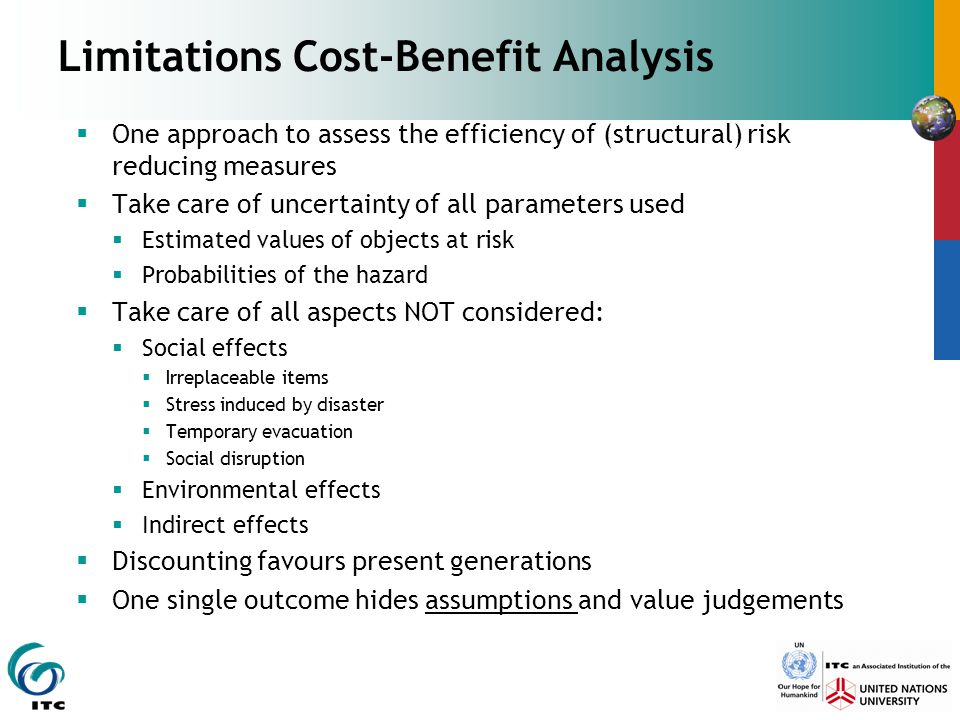 Limitations Cost-Benefit Analysis
