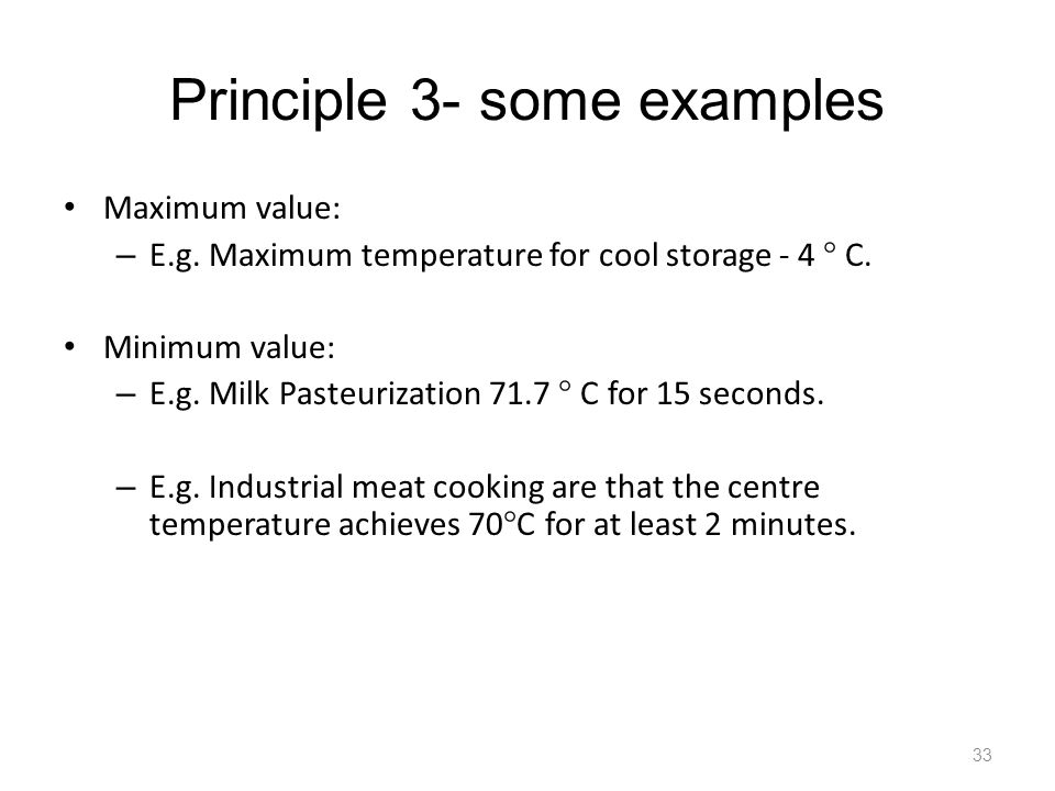 Principle 3- some examples