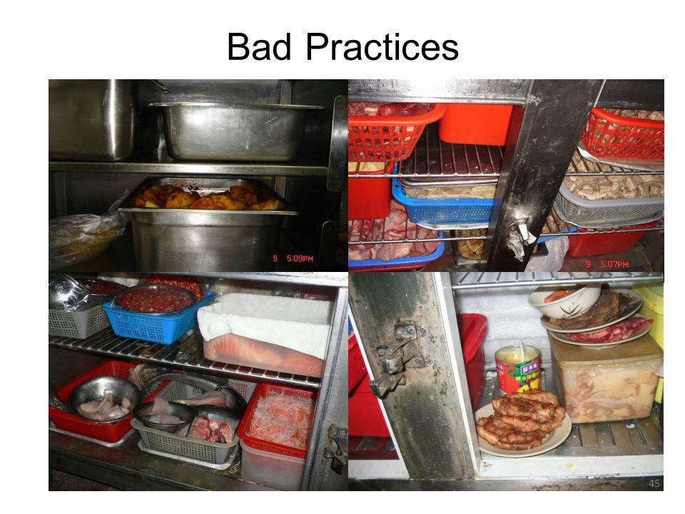 Bad Practices 45