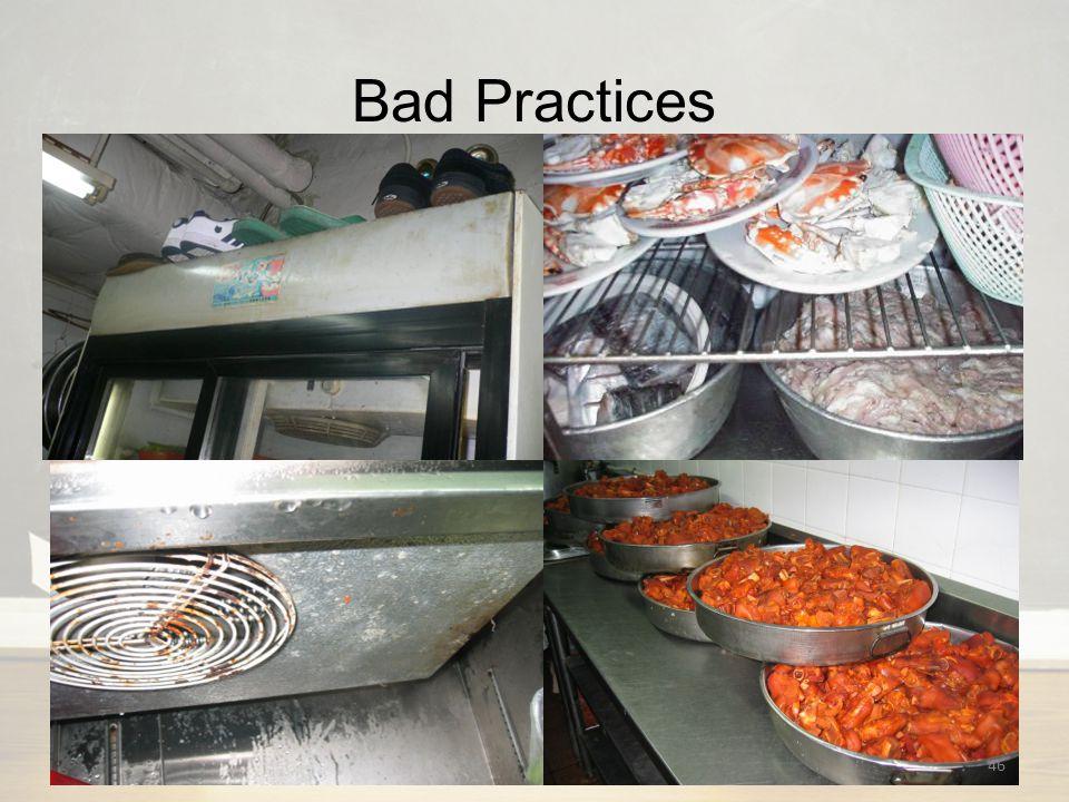 Bad Practices 46