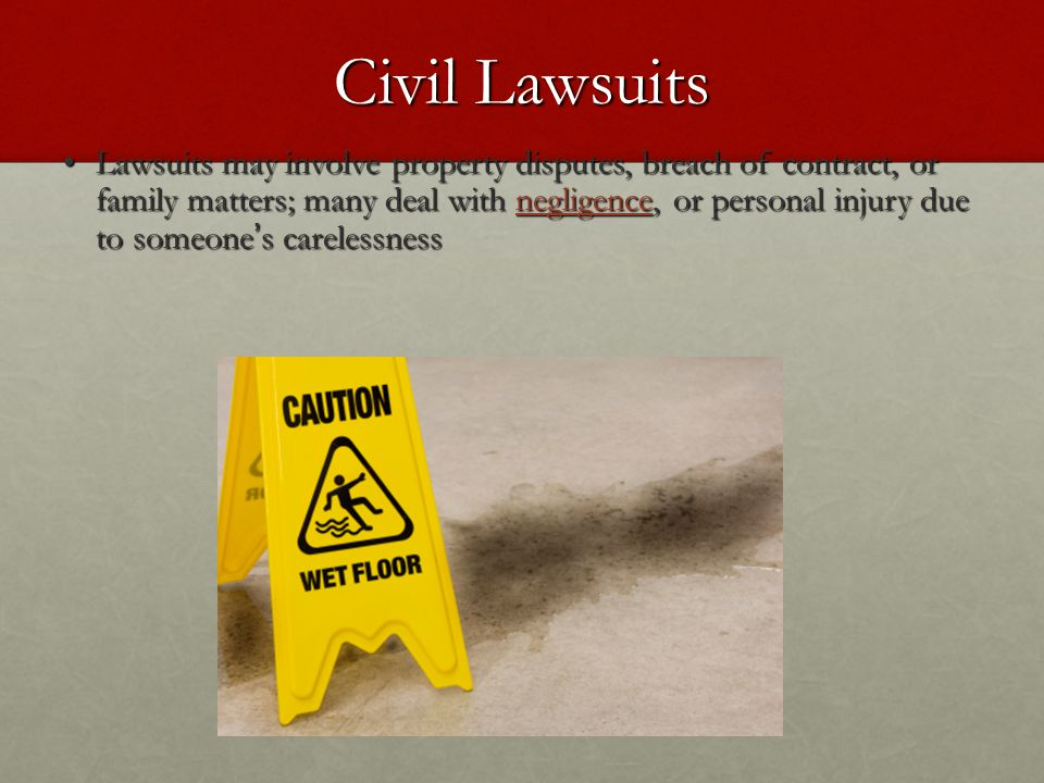 Civil Lawsuits