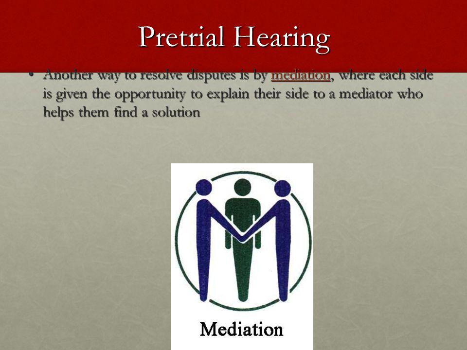 Pretrial Hearing