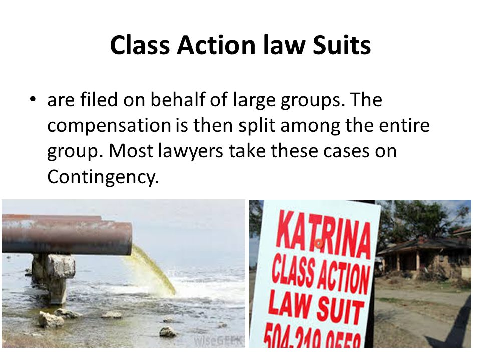 Class Action law Suits