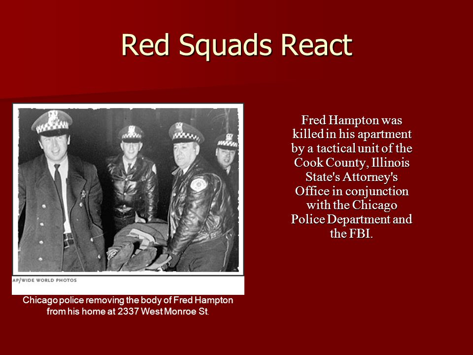 Red Squads React