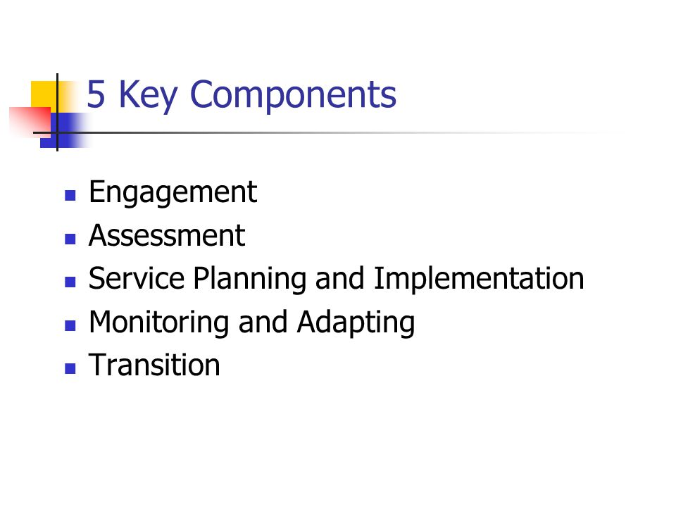 5 Key Components Engagement Assessment