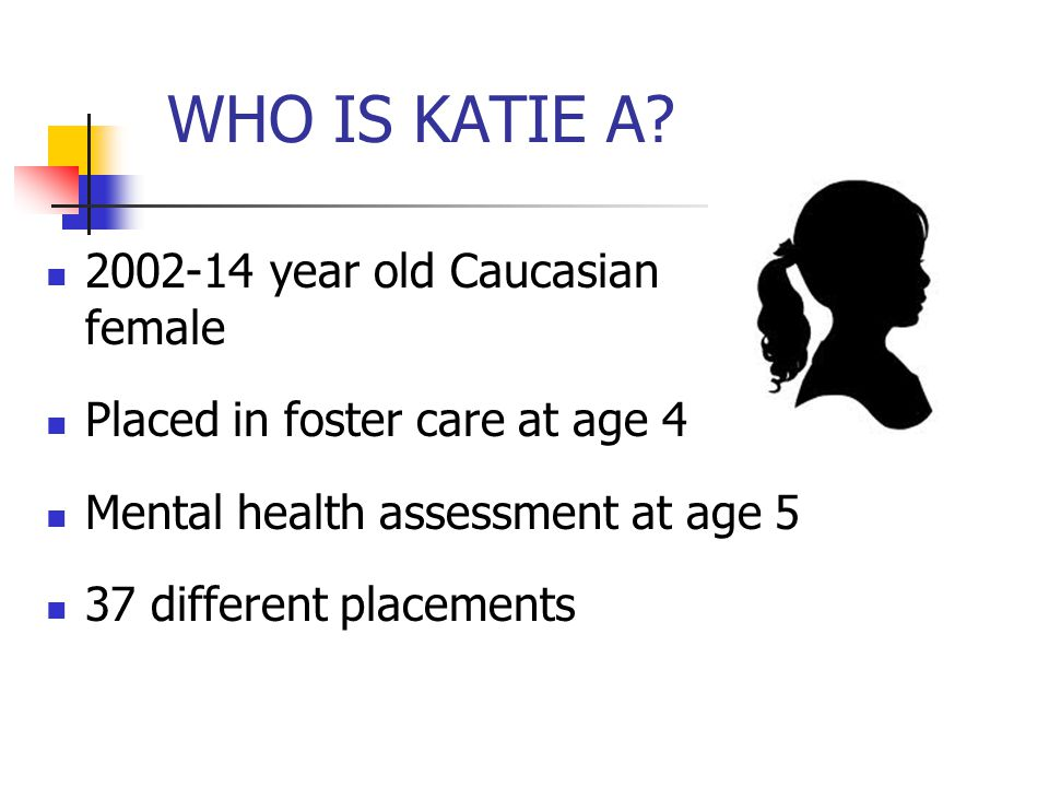 WHO IS KATIE A 2002-14 year old Caucasian female