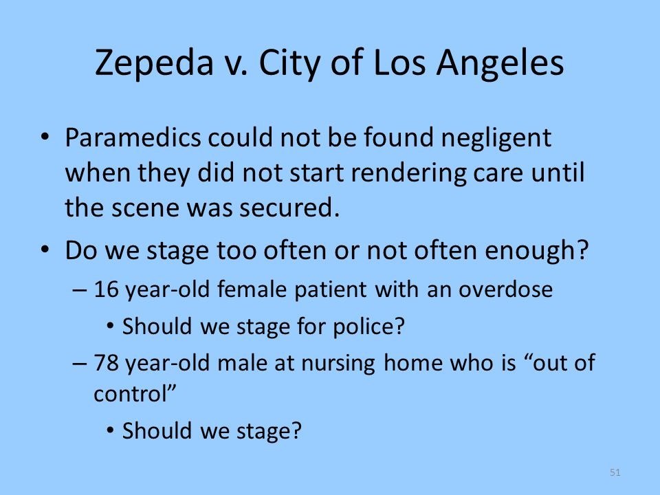 Zepeda v. City of Los Angeles