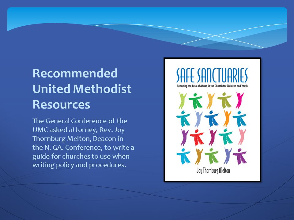 Recommended United Methodist Resources