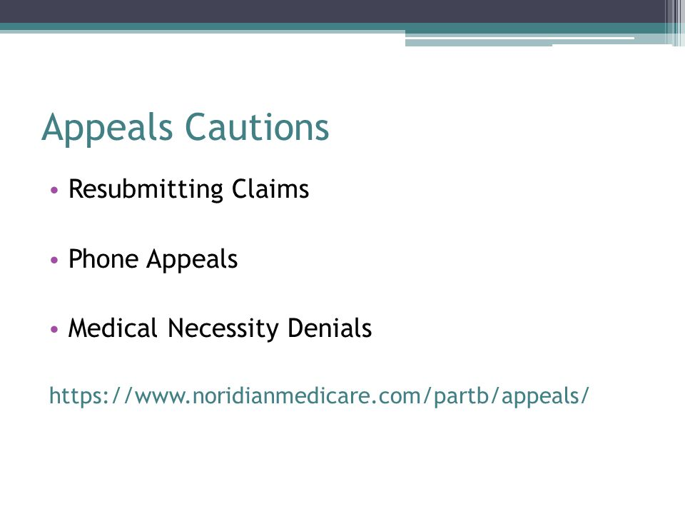 Appeals Cautions Resubmitting Claims Phone Appeals