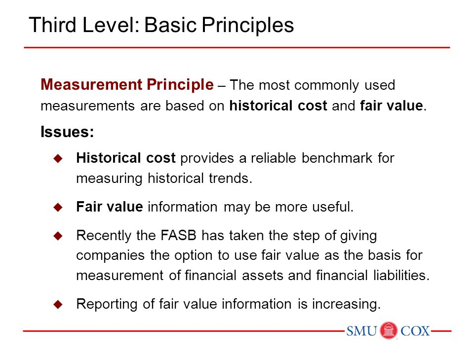 Third Level: Basic Principles