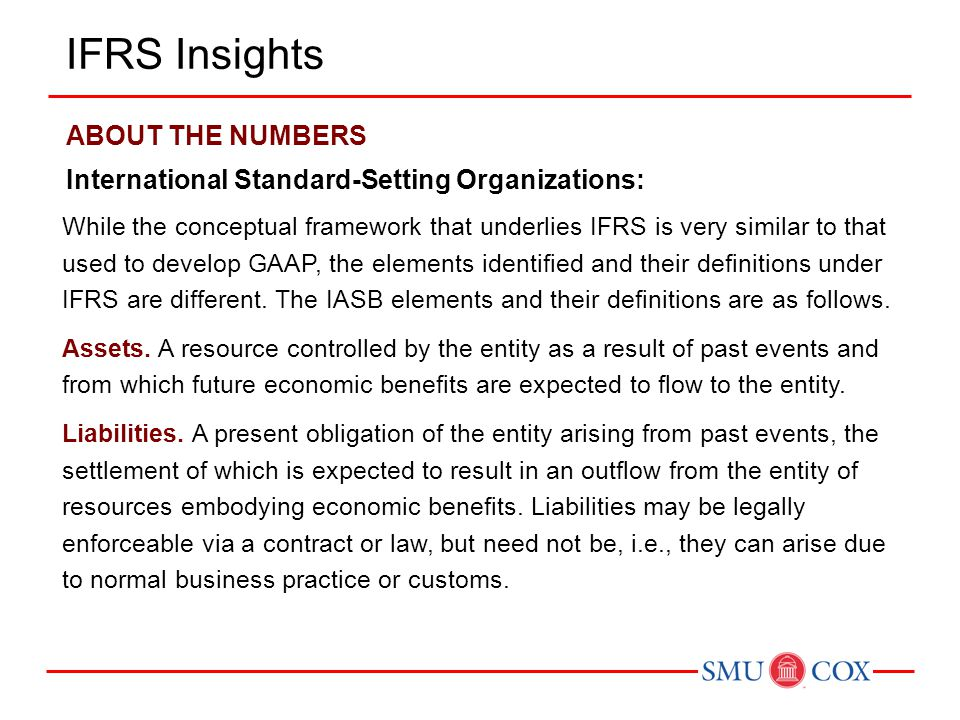 IFRS Insights ABOUT THE NUMBERS