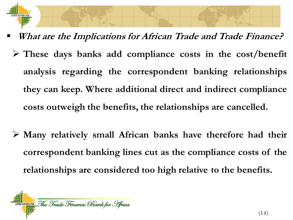 What are the Implications for African Trade and Trade Finance