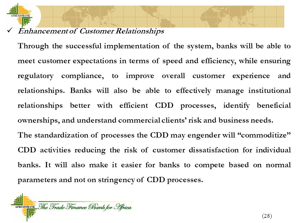 Enhancement of Customer Relationships