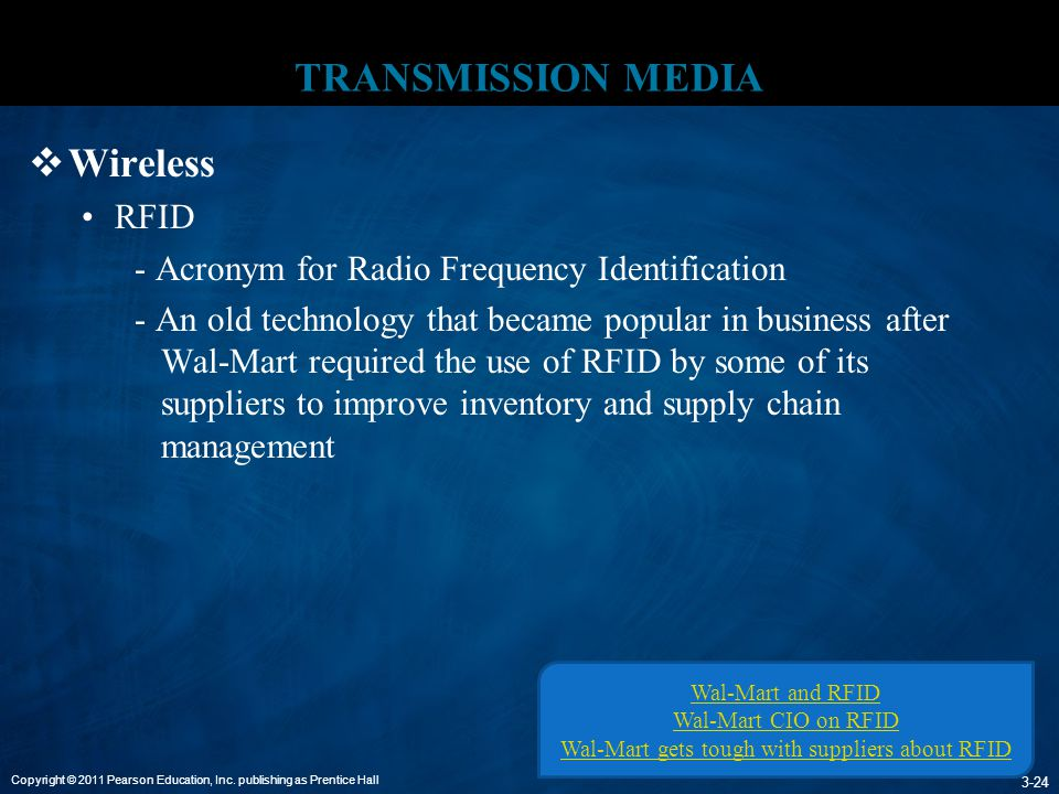 Wal-Mart gets tough with suppliers about RFID