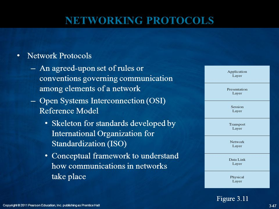 NETWORKING PROTOCOLS Network Protocols