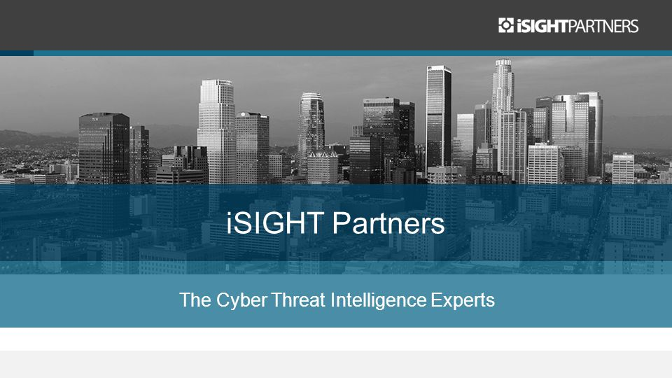 The Cyber Threat Intelligence Experts