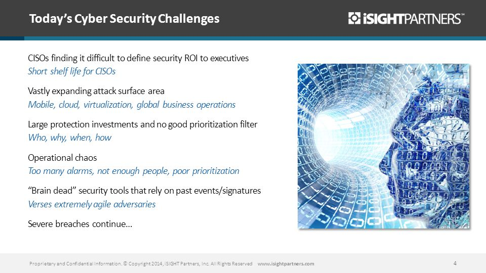 Today's Cyber Security Challenges