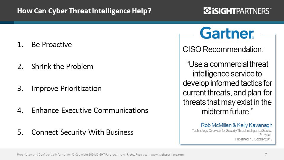 How Can Cyber Threat Intelligence Help