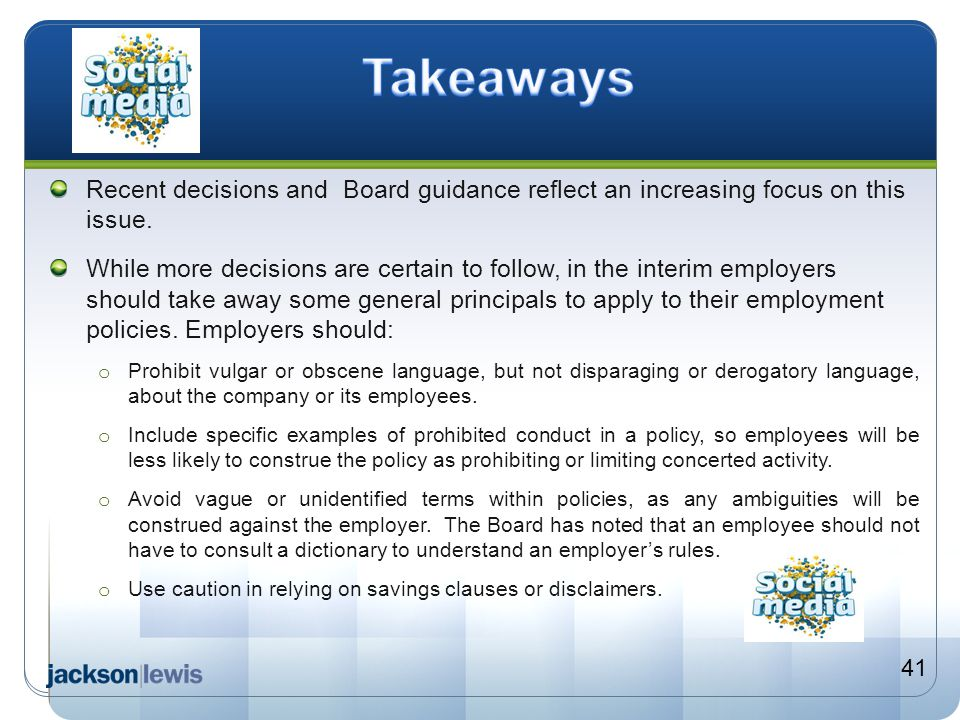Takeaways Recent decisions and Board guidance reflect an increasing focus on this issue.