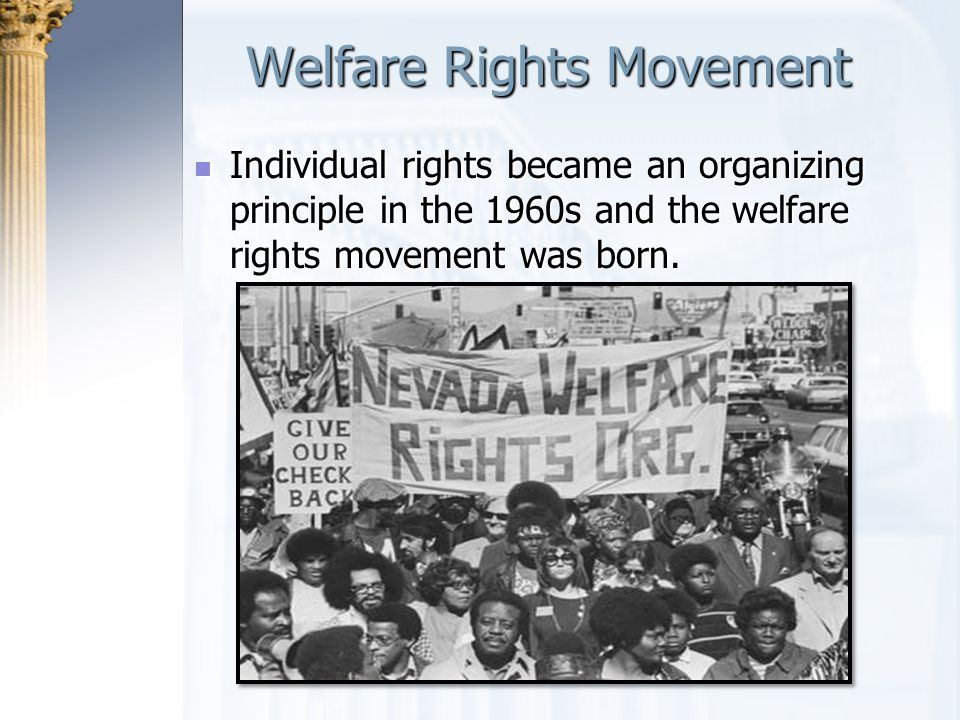Welfare Rights Movement