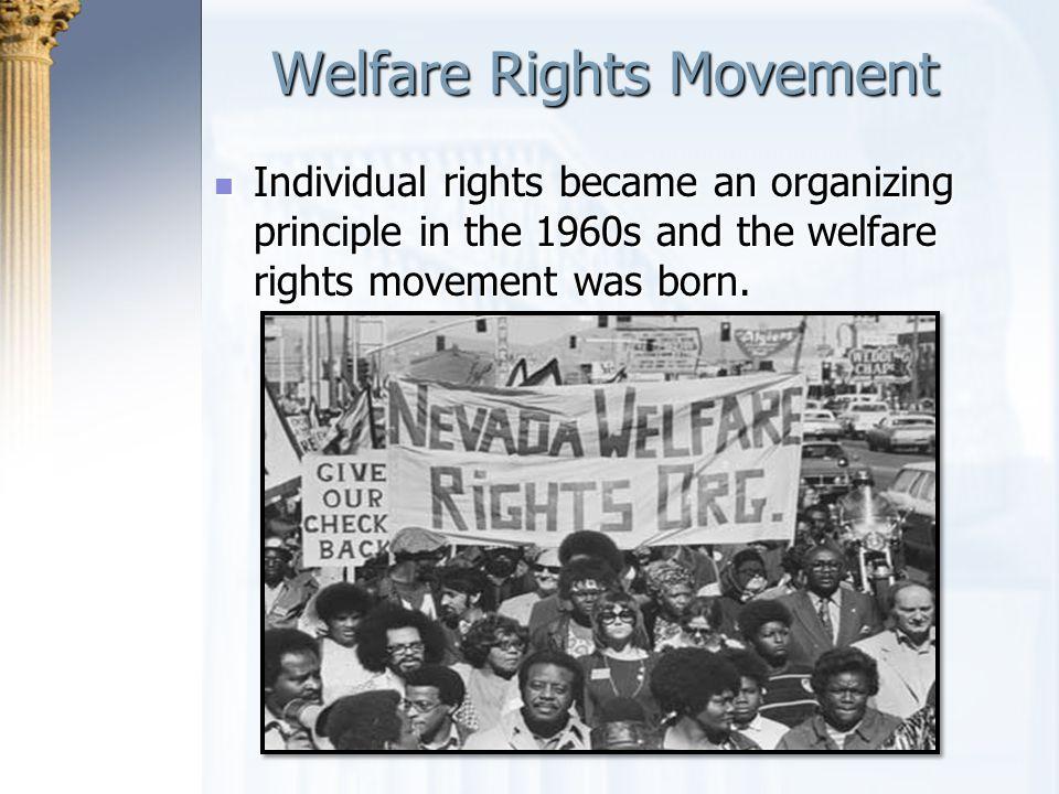 Welfare Rights Movement