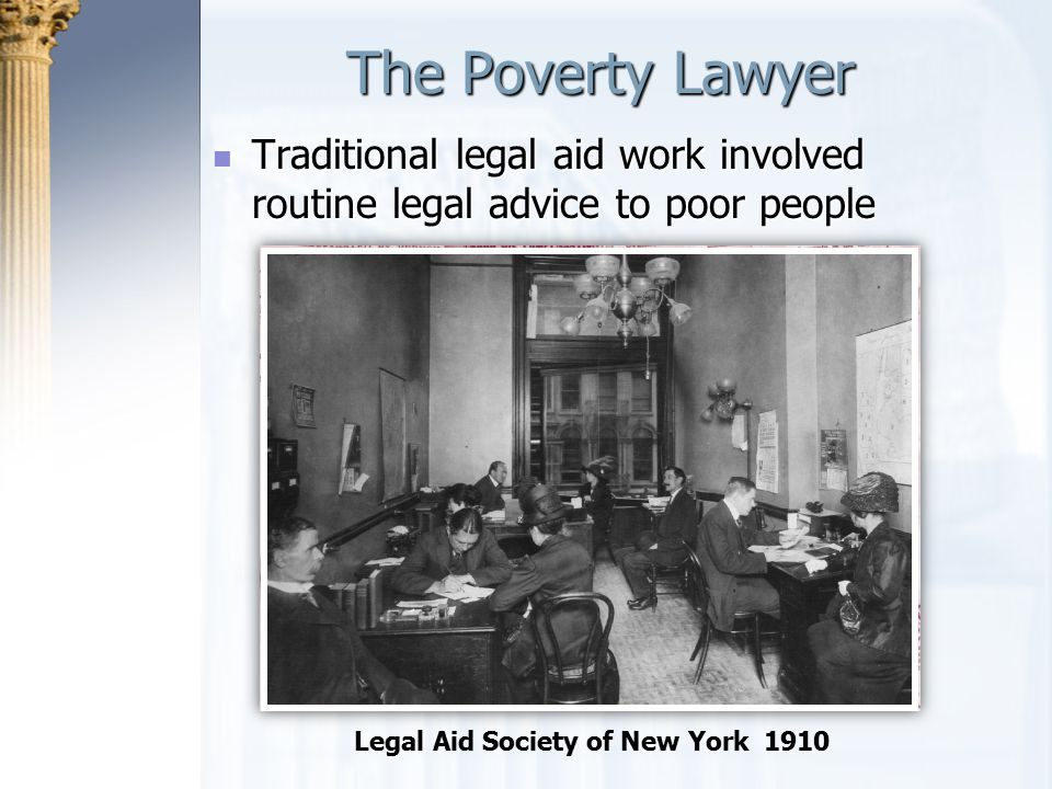 Legal Aid Society of New York 1910