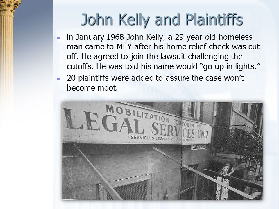 John Kelly and Plaintiffs