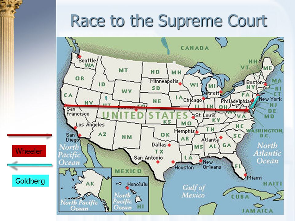 Race to the Supreme Court