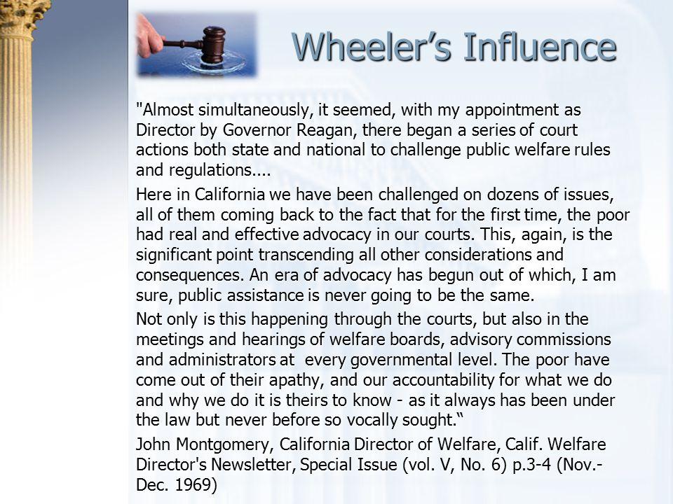 Wheeler's Influence