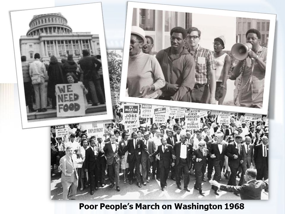 Poor People's March on Washington 1968