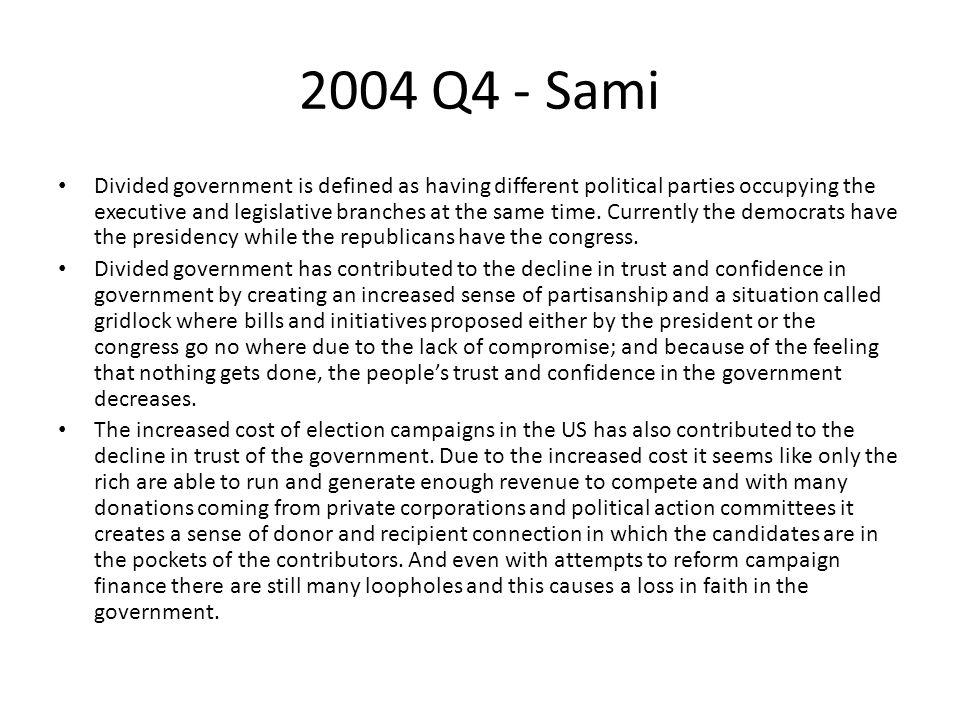 2004 Q4 - Sami