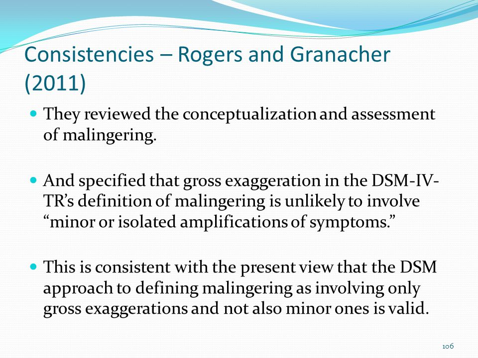 Consistencies – Rogers and Granacher (2011)