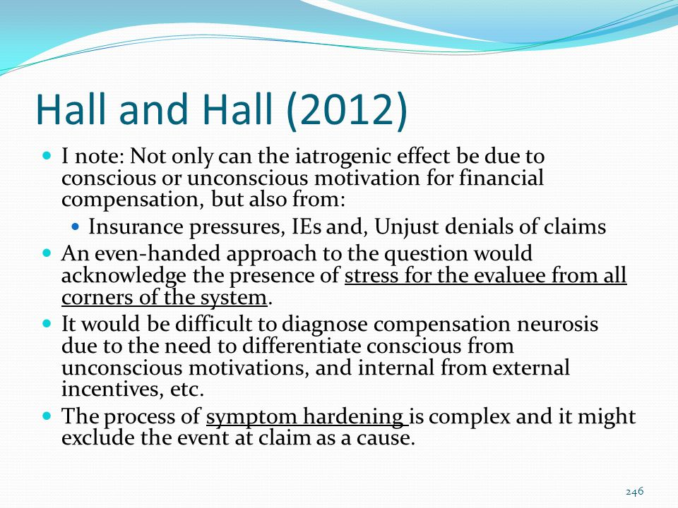 Hall and Hall (2012)